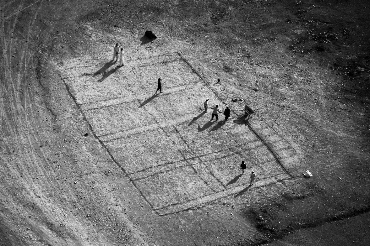 Afghans play soccer