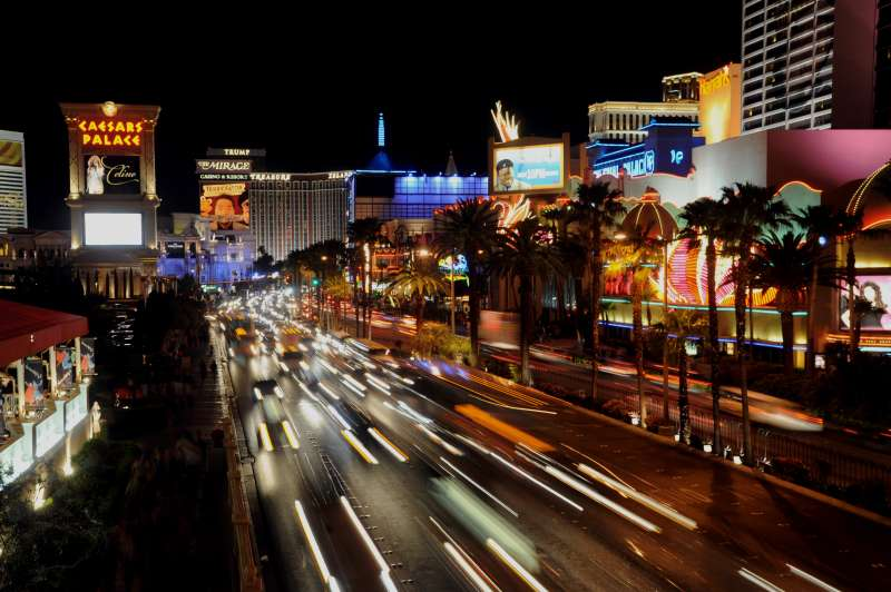 Las Vegas' more volatile home prices suggest residents should invest their portfolios more conservatively, a new report says.