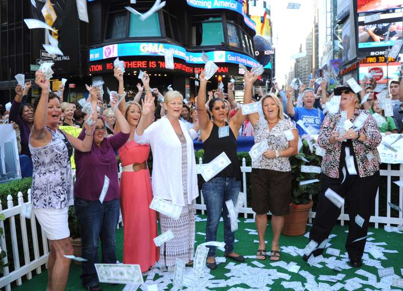 Many investors dare to dream, like these  winners of the $448 million Powerball jackpot.