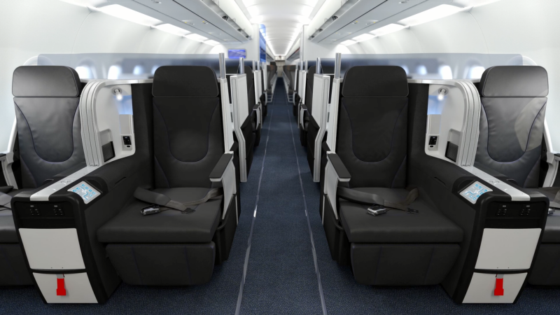 JetBlue's new value-price business class service, dubbed Mint, is being launched on coast-to-coast flights this summer.
