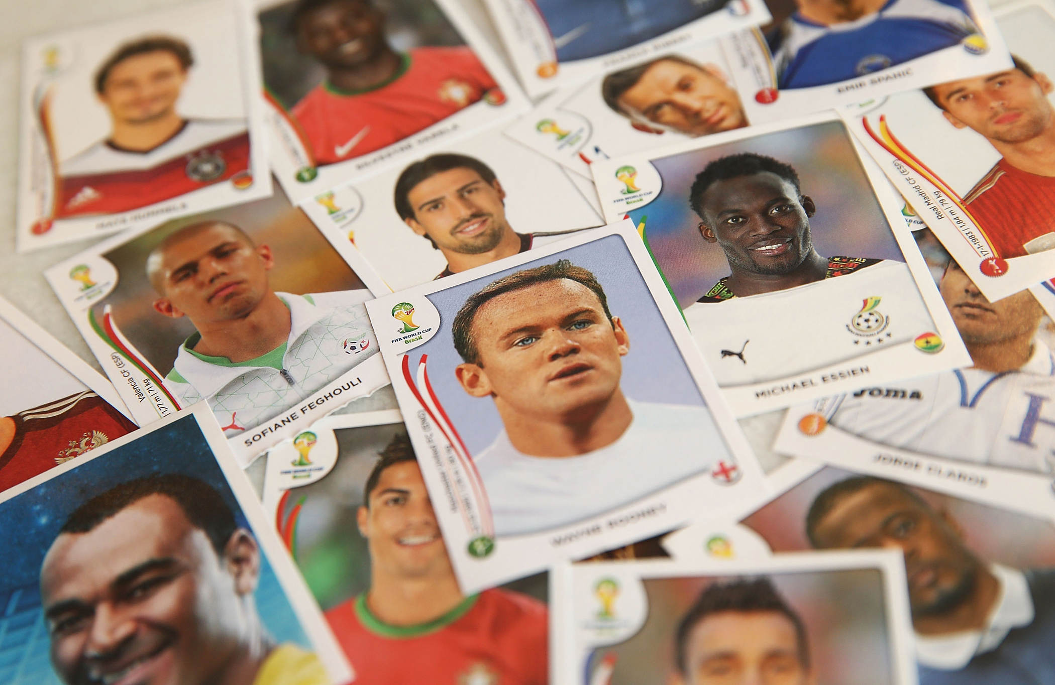 Panini World Cup stickers—collect all 640 of 'em!