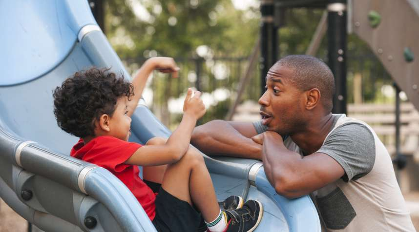 With flexible work schedules, one parent can cover child care by day.