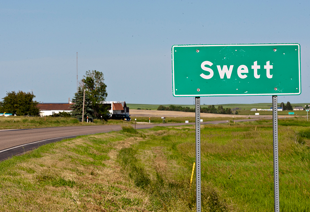 If you've got $399,000, you could be the new owner (or mayor or president or generalissimo) of the 6-acre town of Swett, S.D.