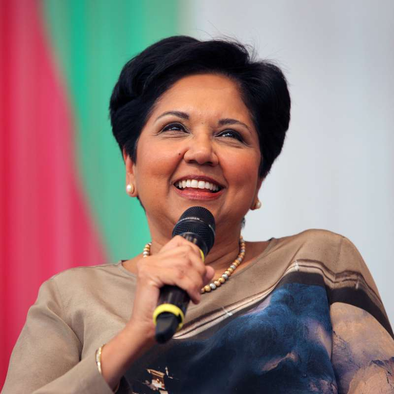 Indra Nooyi, chairman and chief executive officer of PepsiCo.