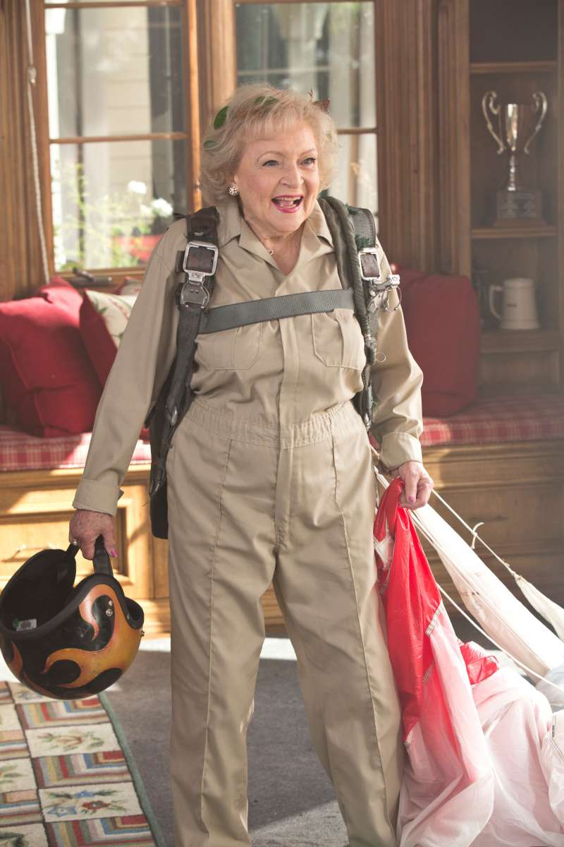 Actress Betty White works well past traditional retirement age.
