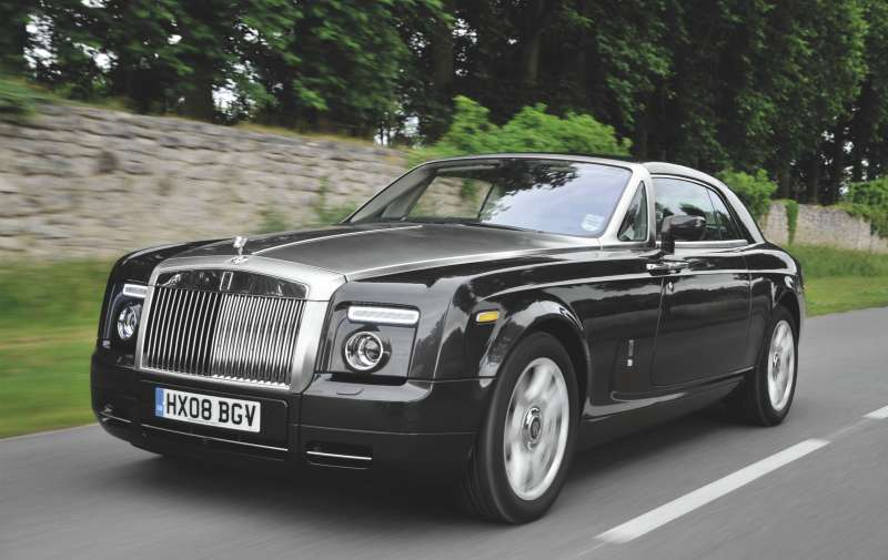 The Rolls-Royce Phantom Series 1 Coupe: Sales for the brand are up 33% thus far in 2014.