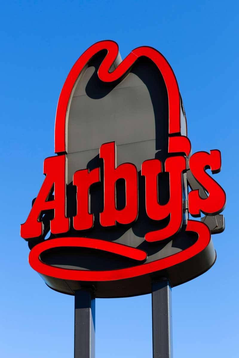 Arby's restaurant sign, Central Florida.