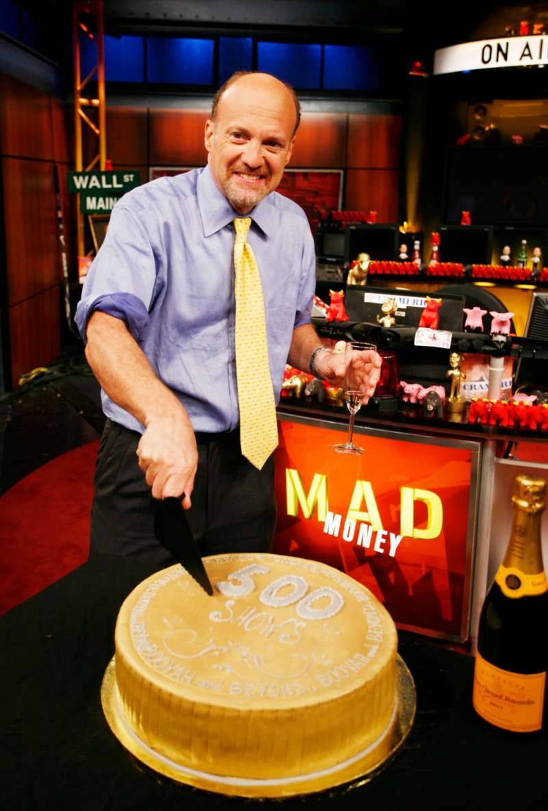 Jim Cramer on the  500th Episode  of CNBC'S  MAD Money.