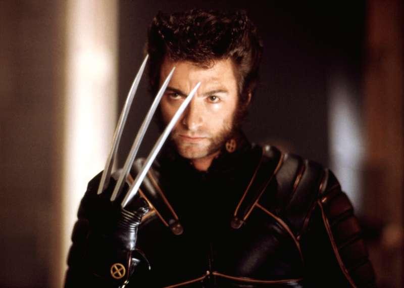 Hugh Jackman as Wolverine in X-MEN.