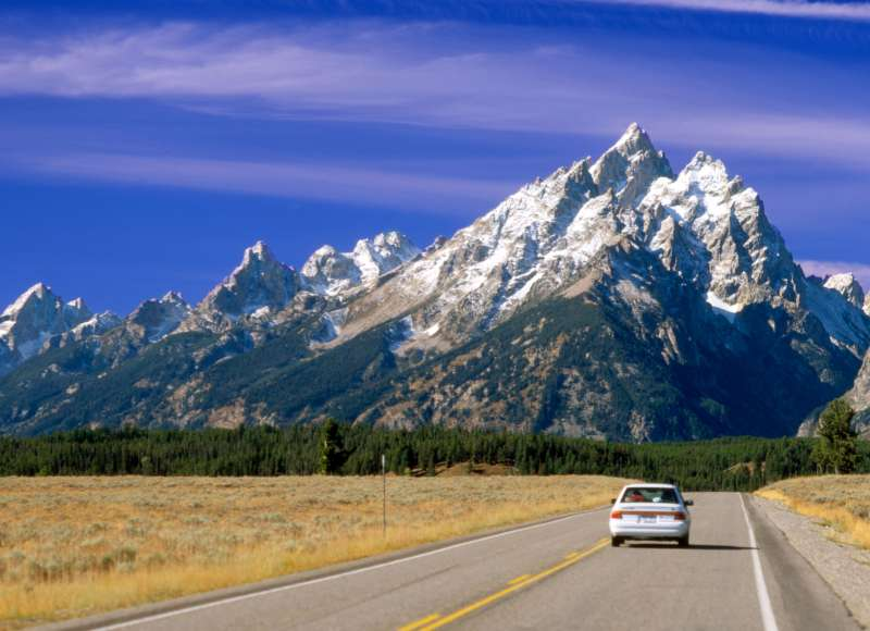 At least the scenery is great in the state where drivers tend to log in the most mileage on the road, Wyoming.