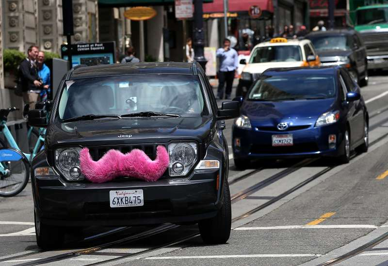 Lyft, the ride-sharing company known for its iconic pink mustaches, is involved in what's called  Tech's Fiercest Rivalry  with competing service Uber.