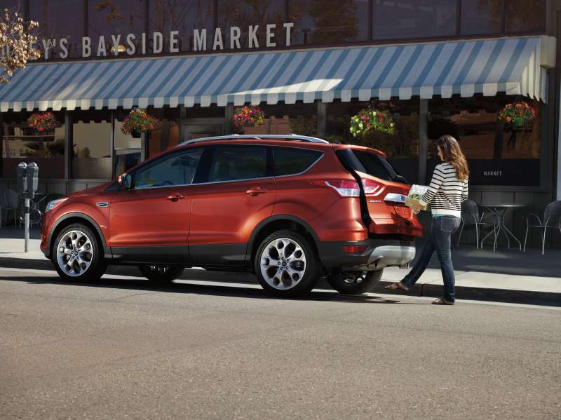 As millennials get older, they're more interested in SUVs and crossovers, like the 2014 Ford Escape.