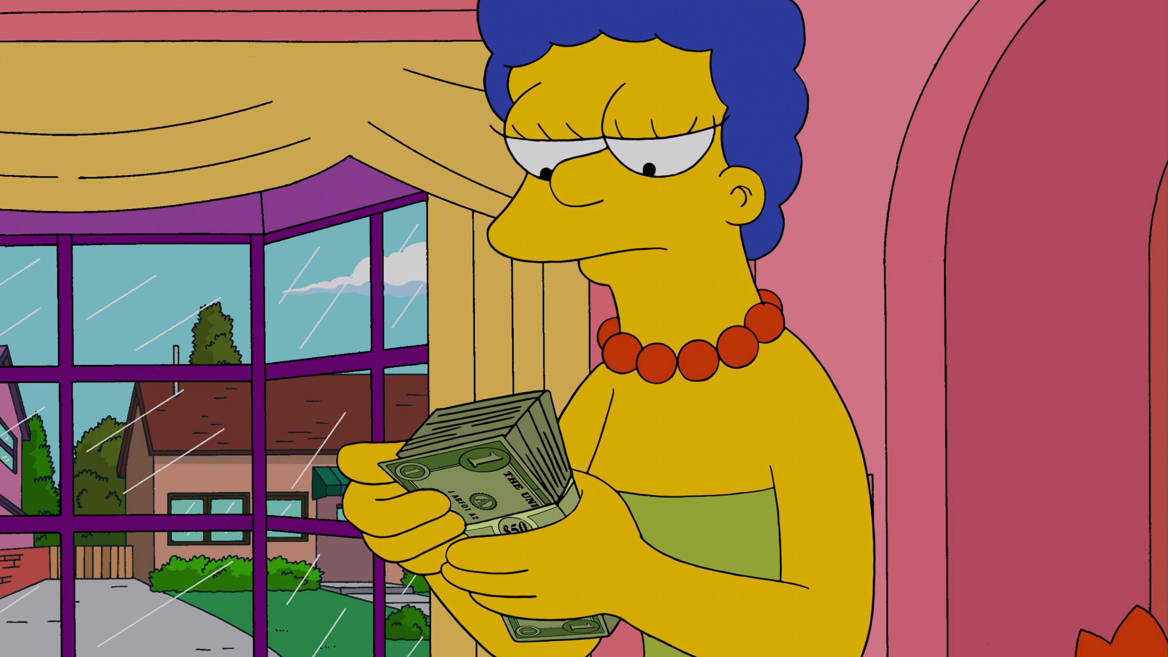 Marge Simpson on THE SIMPSONS