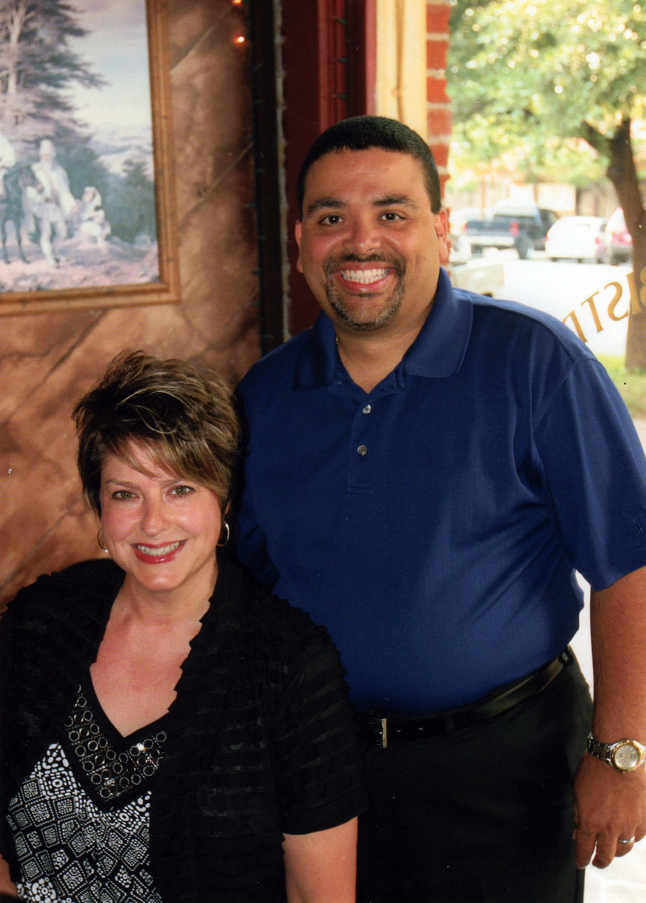 Stacey and Jose Figueroa