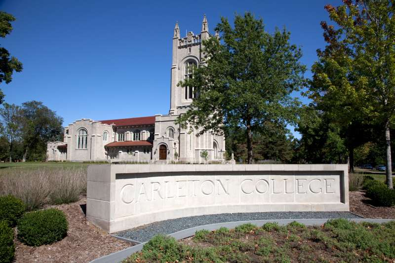 Carleton College, where grads clear $118,000 on average 10 years out.