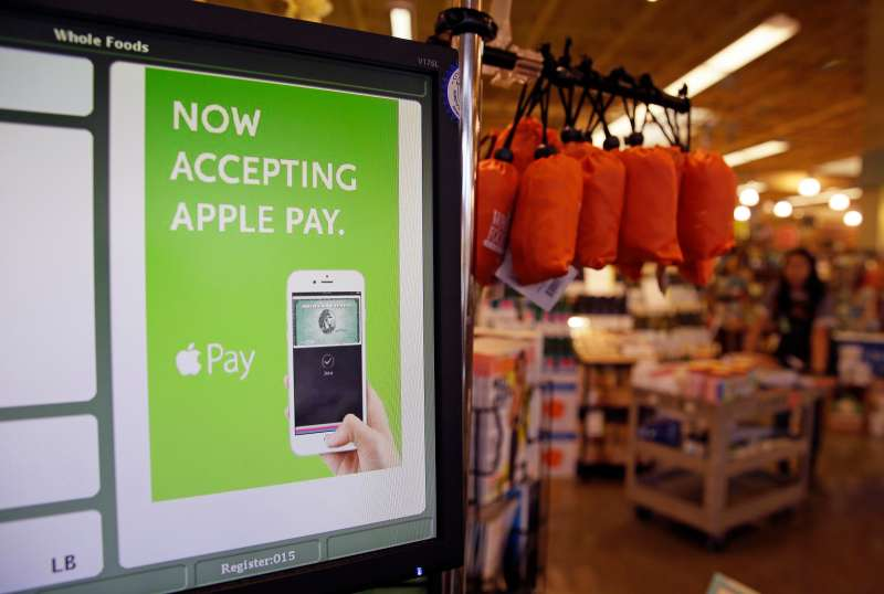 Whole Foods is jumping on the Apple Pay train.
