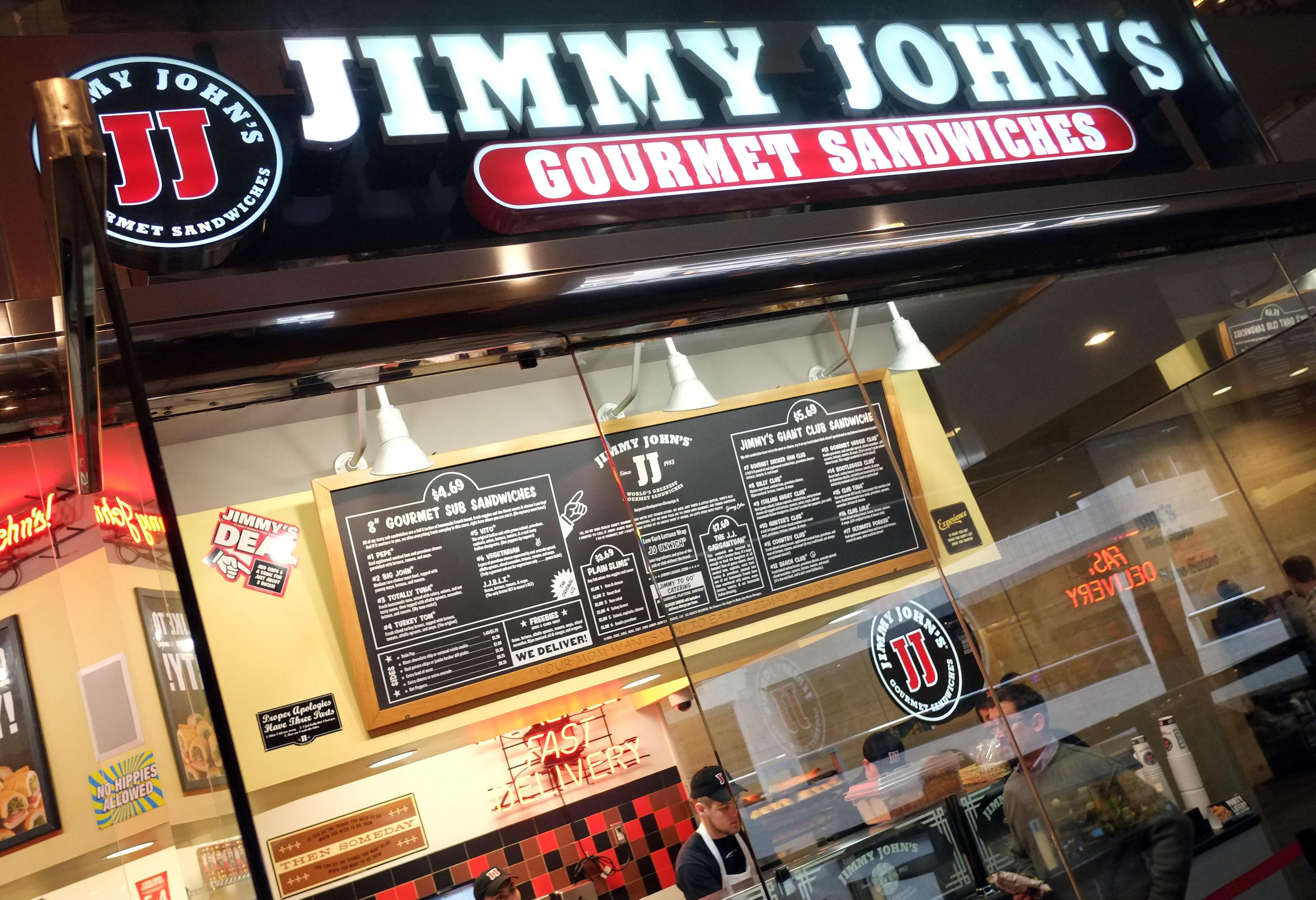 Jimmy John's, Minneapolis, MN.