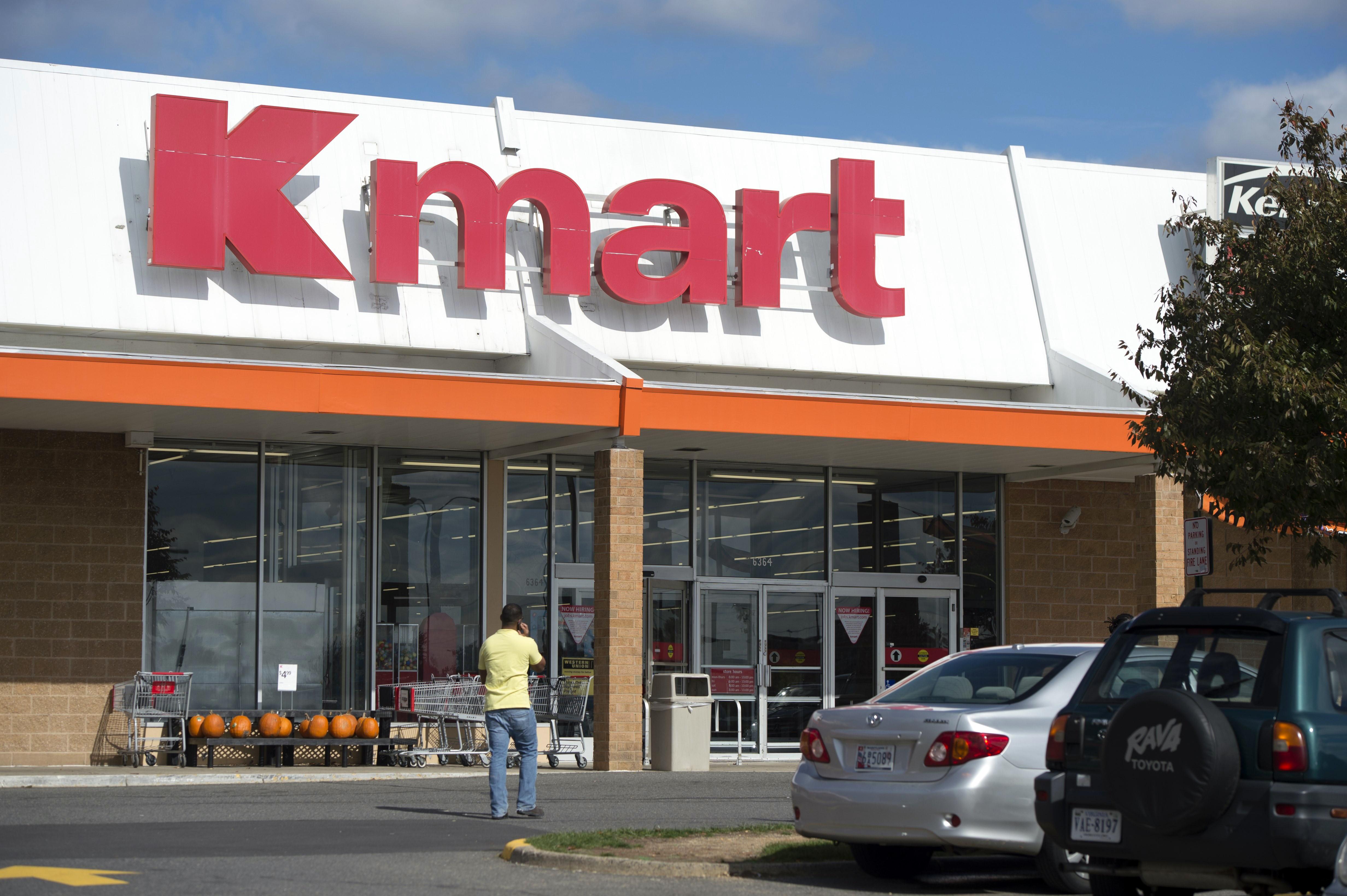 A Kmart department store is seen in Springfield, Virginia, October 23, 2014.