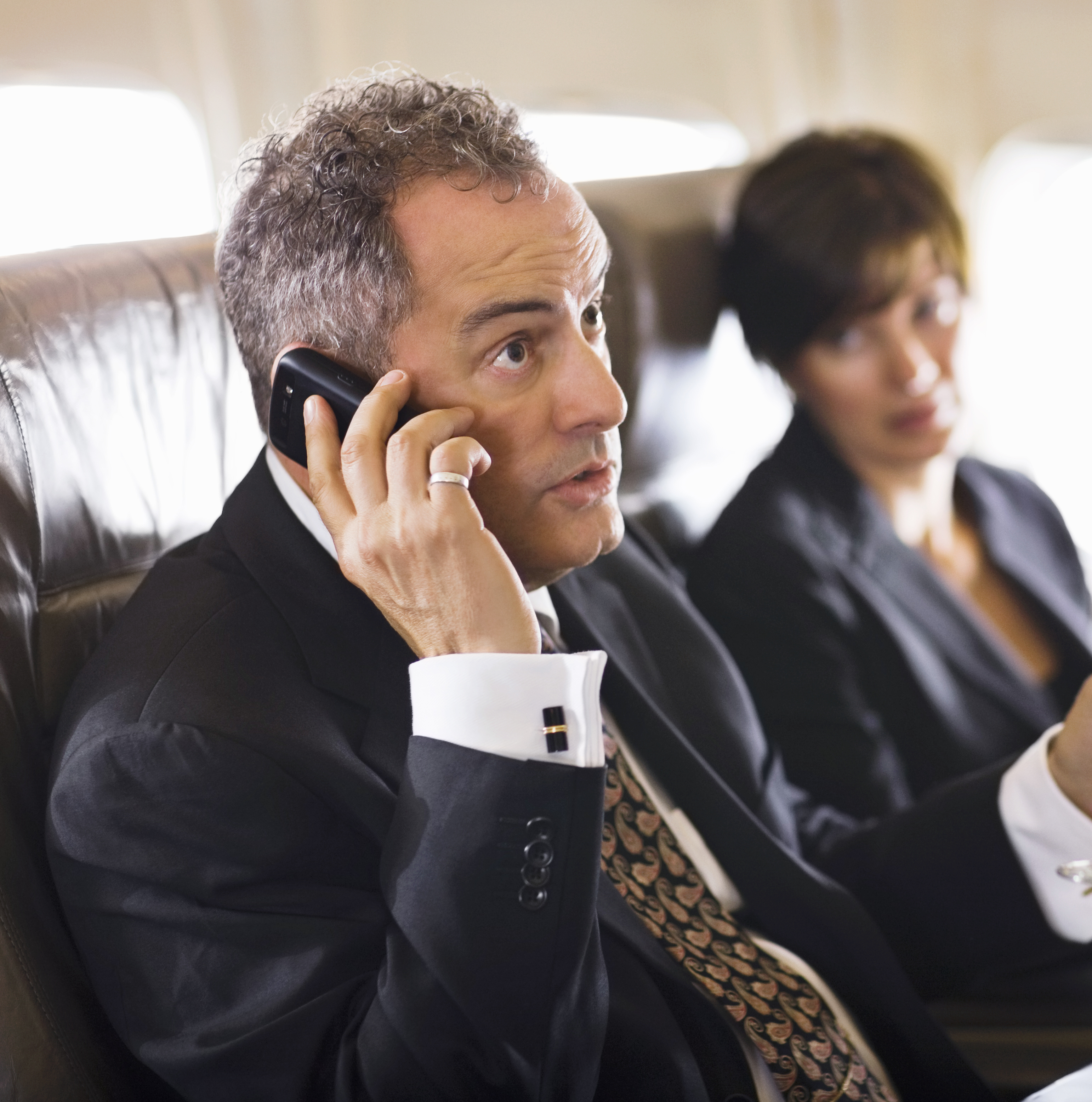 POLL: Are You Ready for Cellphone Calls on Airplanes?