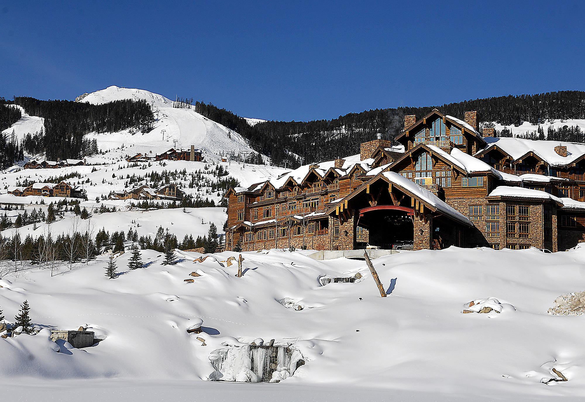 Yellowstone Club near Big Sky, Montana.