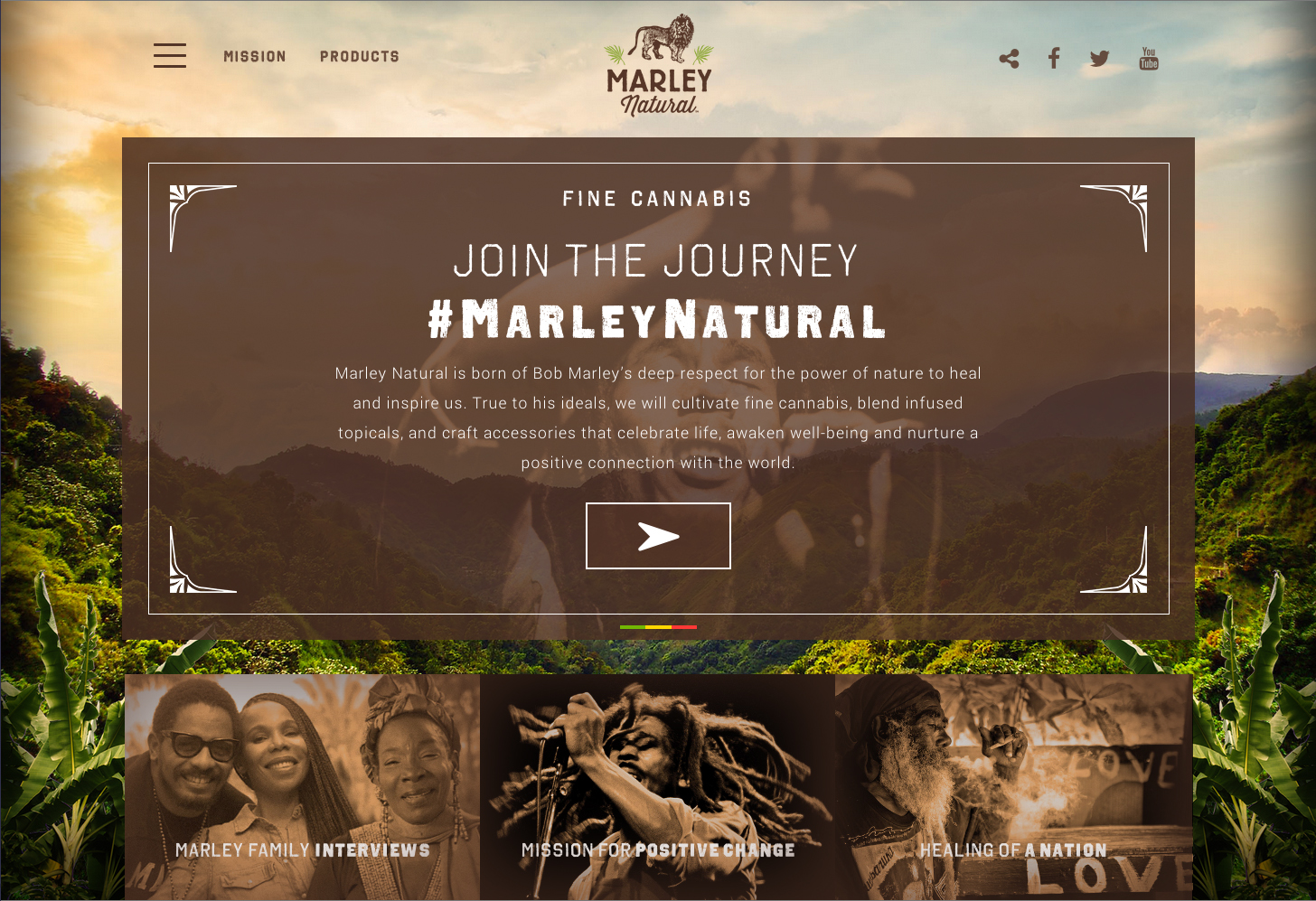 Marley Natural website