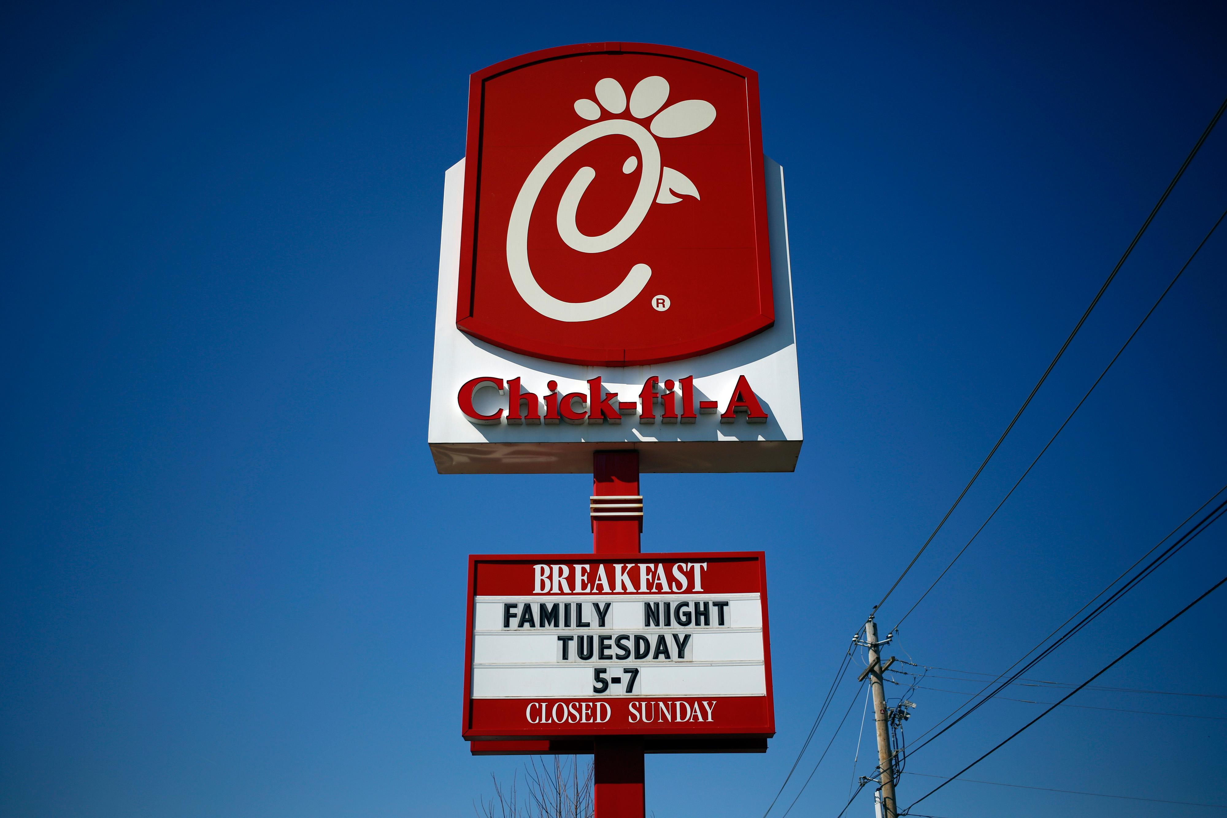 Chick-fil-A Inc. restaurant in Bowling Green, Kentucky.