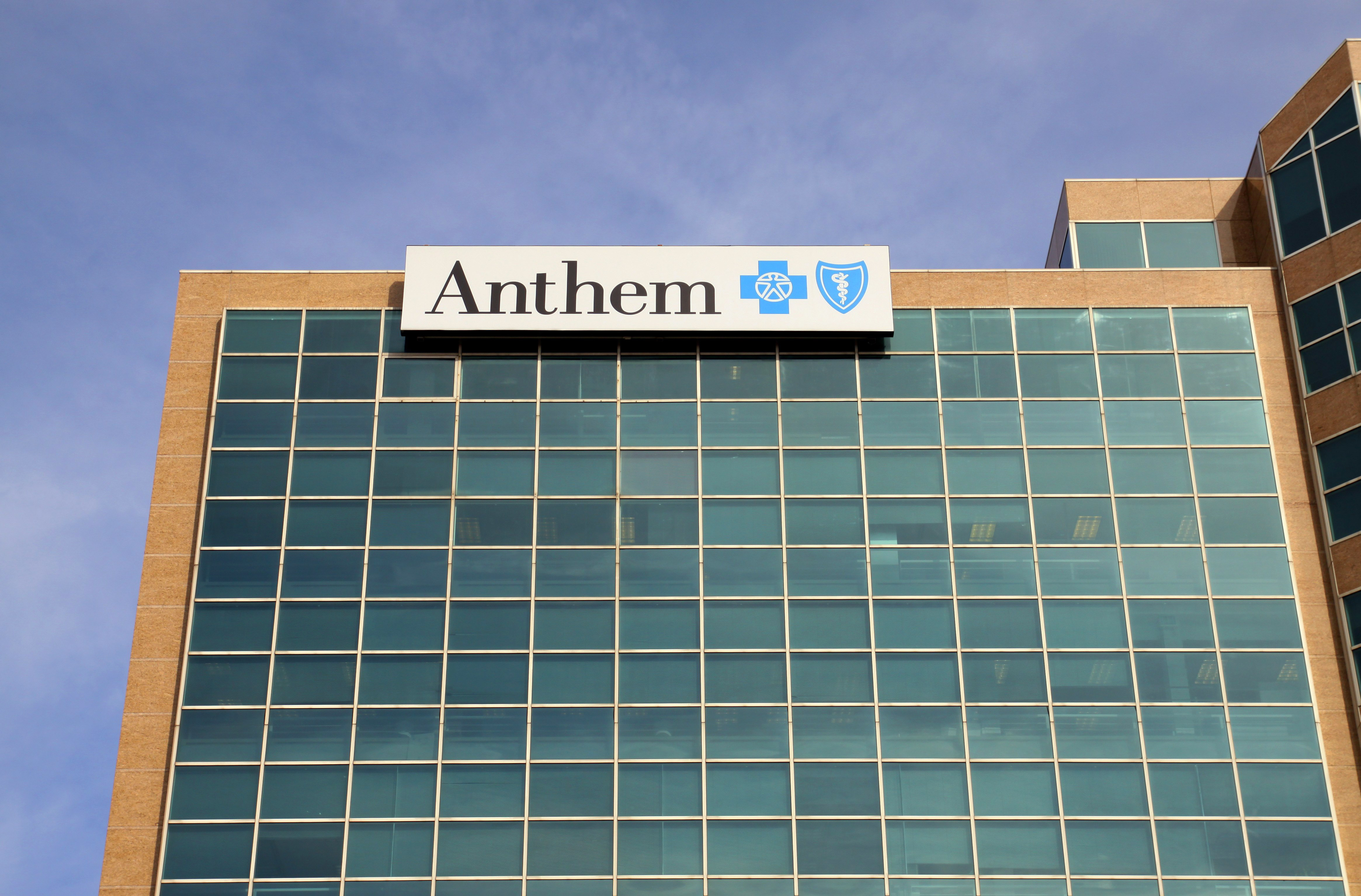Anthem Blue Cross and Blue Shield building, in St. Louis, Missouri.
