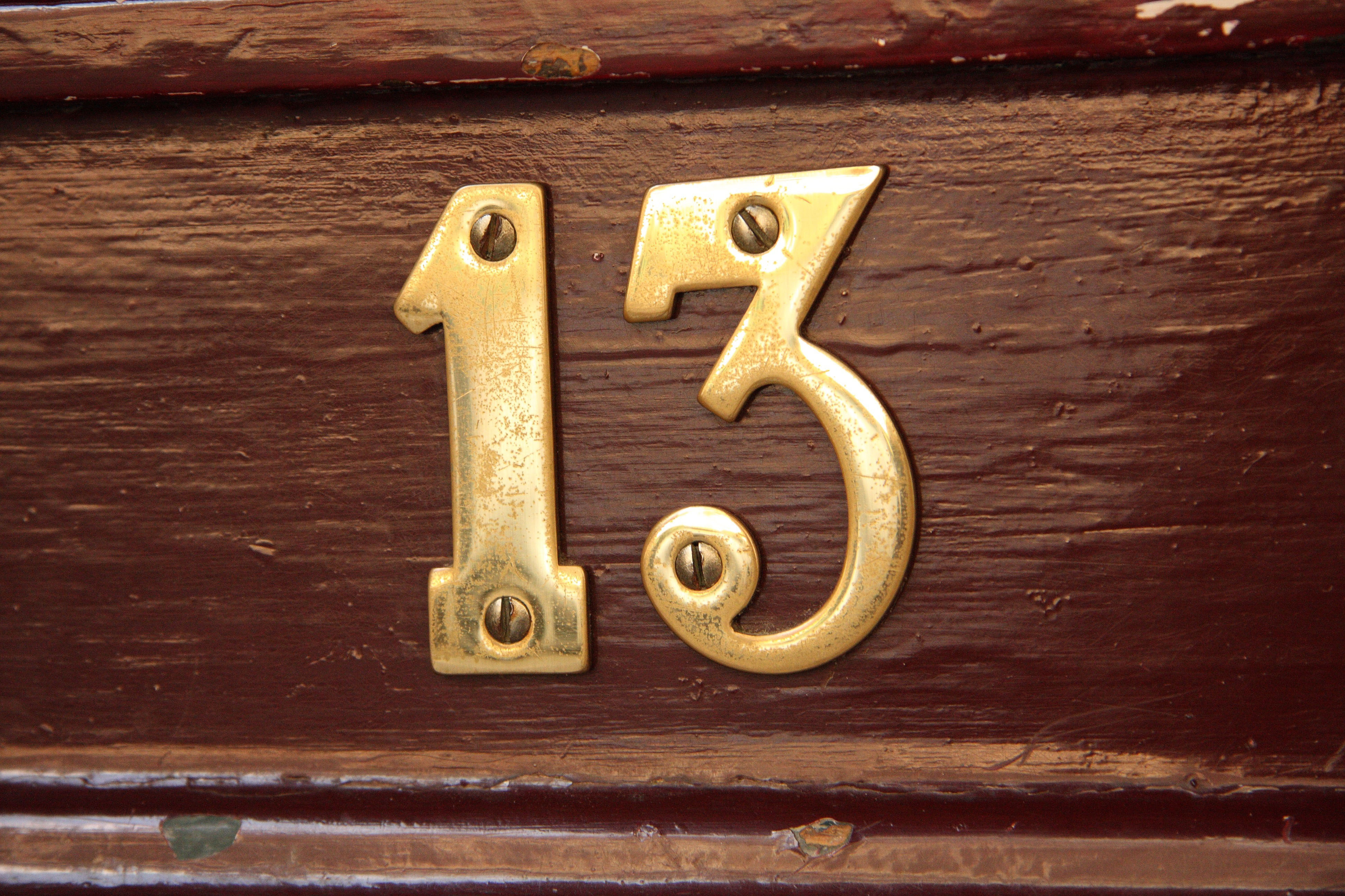 #13 house number