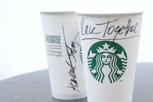 Starbucks Backtracks on 'Race Together' Campaign