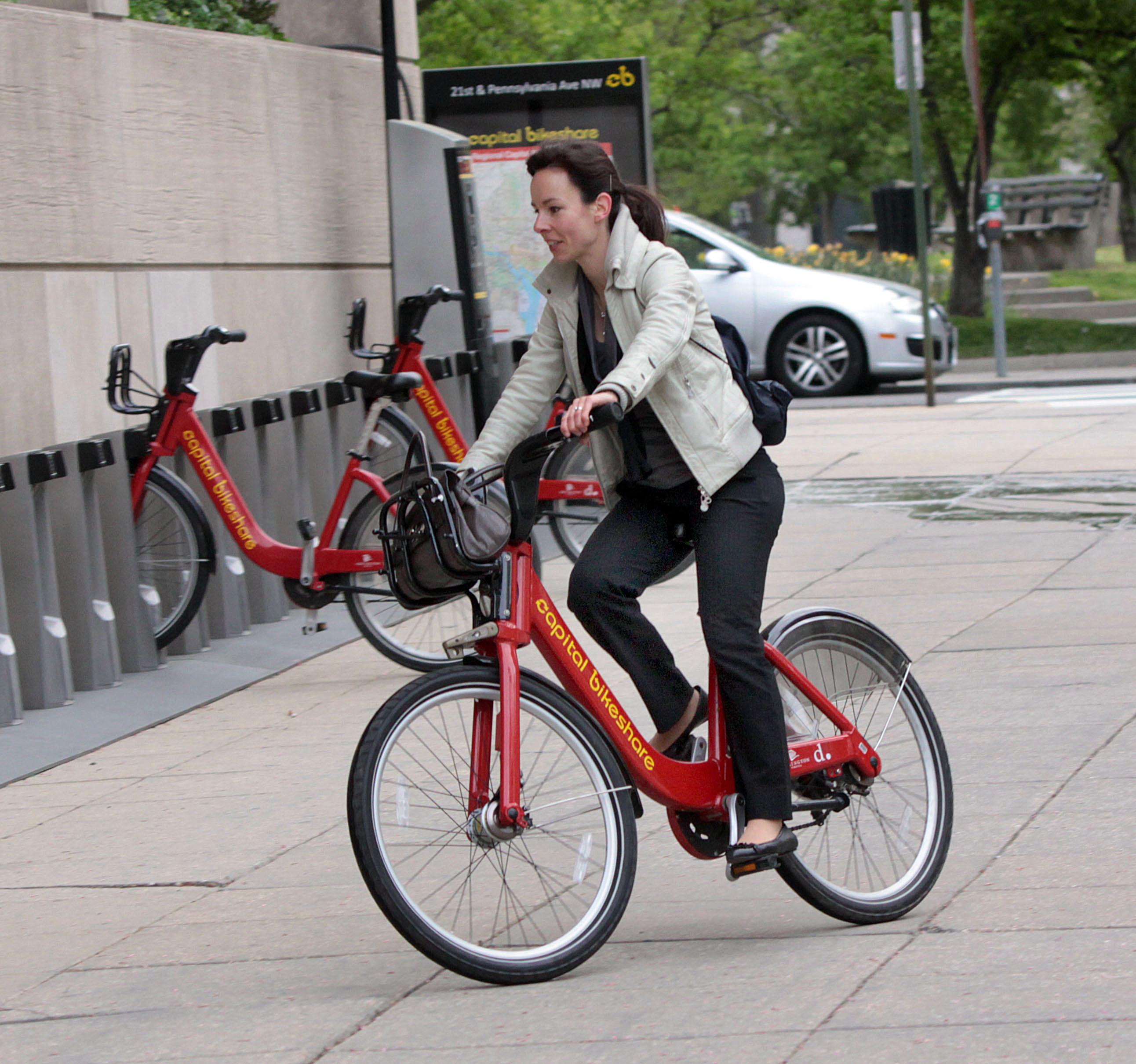 Capital Bikeshare, Washington, D.C.