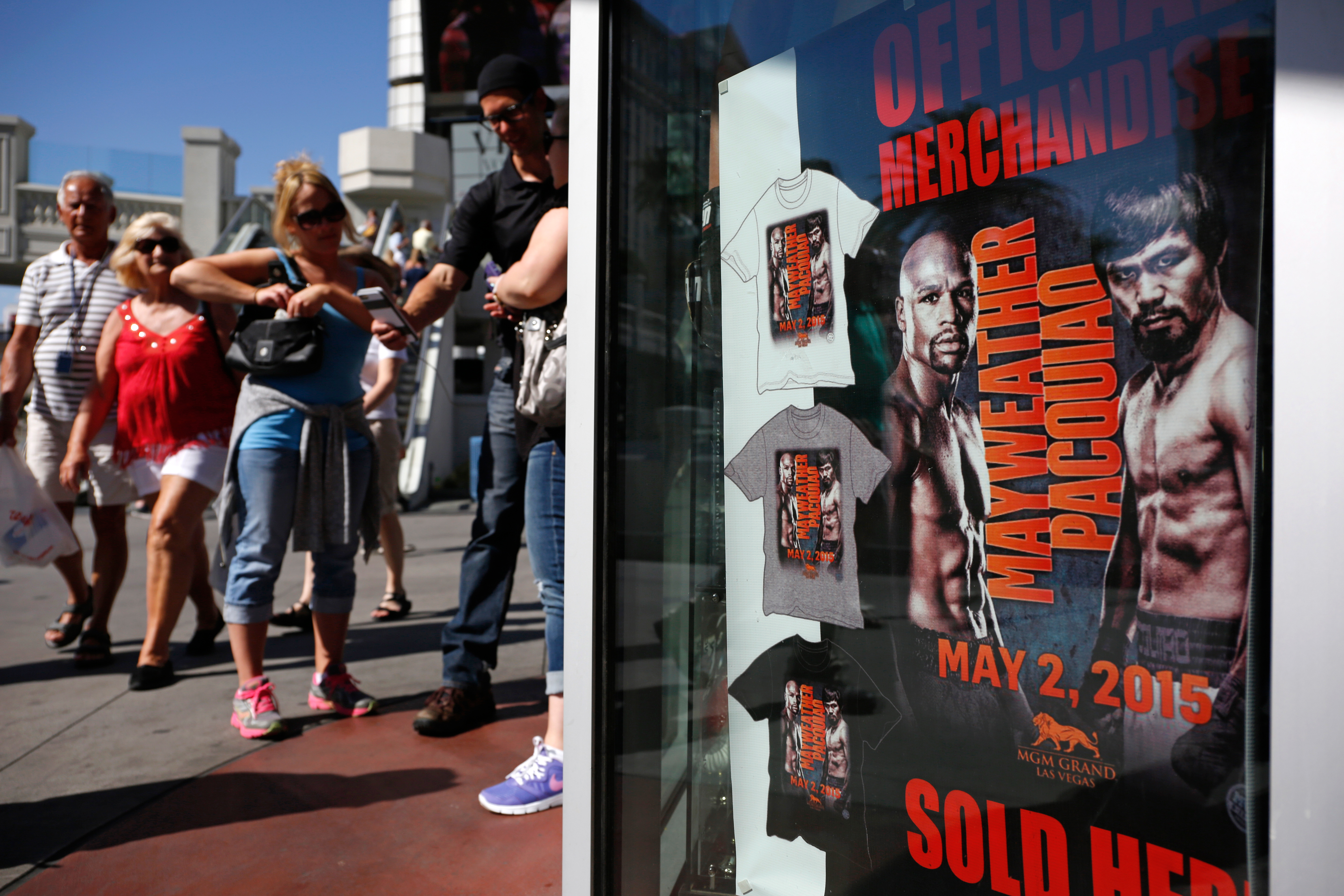 The Mayweather-Pacquiao fight is packing Las Vegas on what already is usually a huge gambling weekend. Lots of businesses are predicting record hauls, including secondary ticket sellers, hotel companies, casinos, restaurants, bars, and the state's legal brothels.