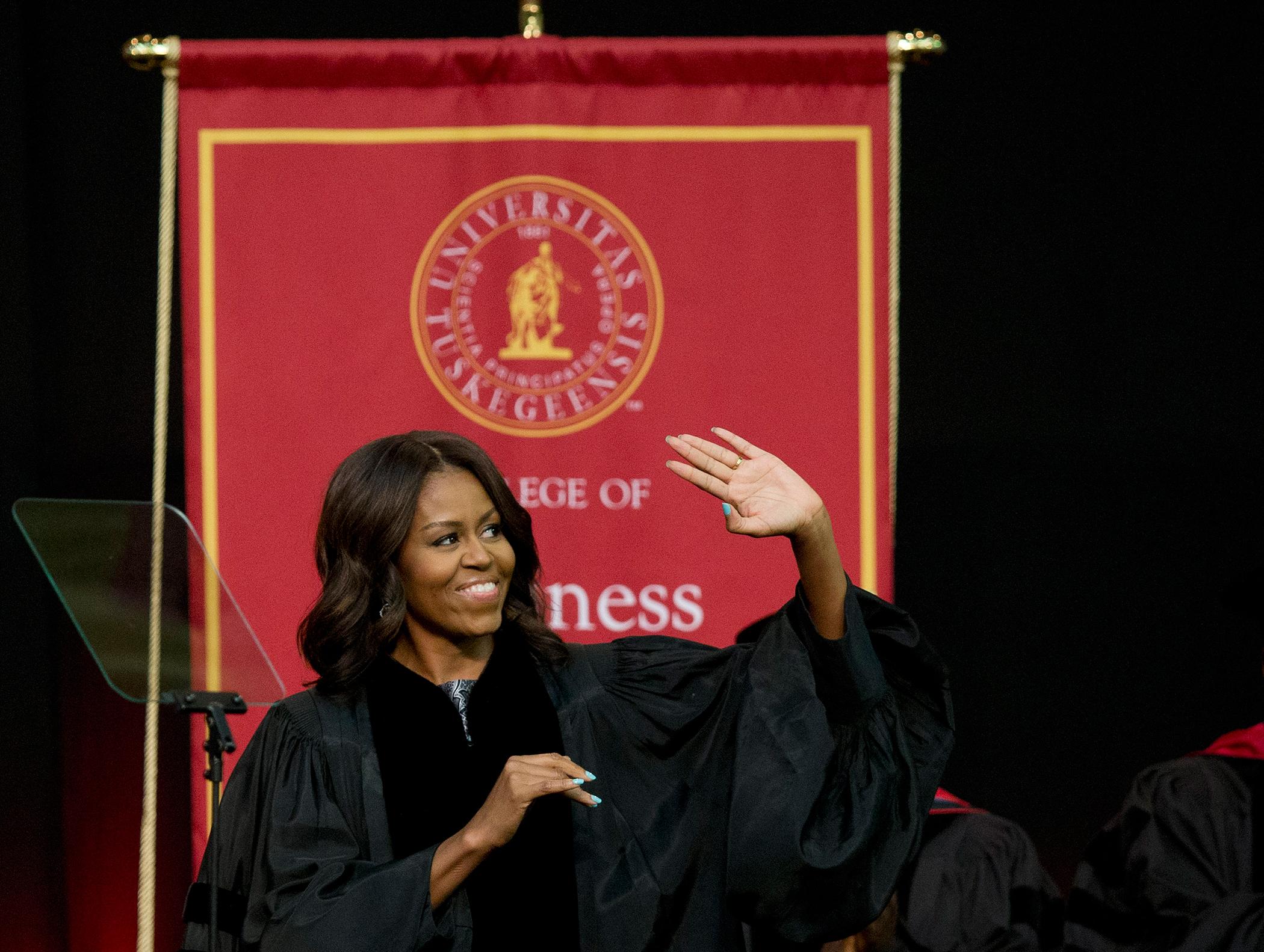 Michelle Obama150521_EM_CommencementAdvice_Obama