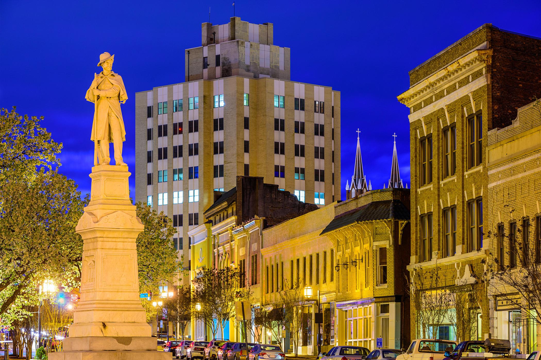 War Memorial to Confederate Soldiers, Macon, Georgia