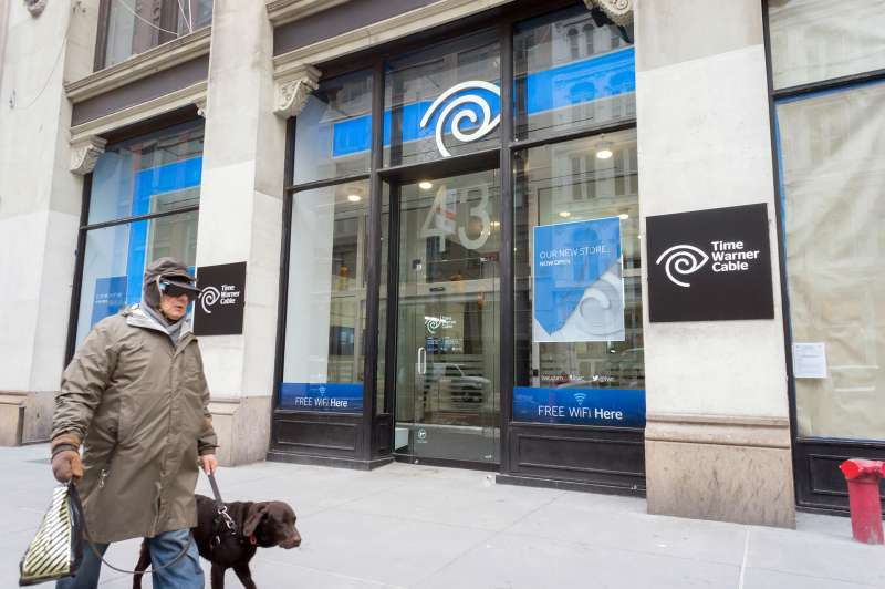 Time Warner Cable retail store in New York