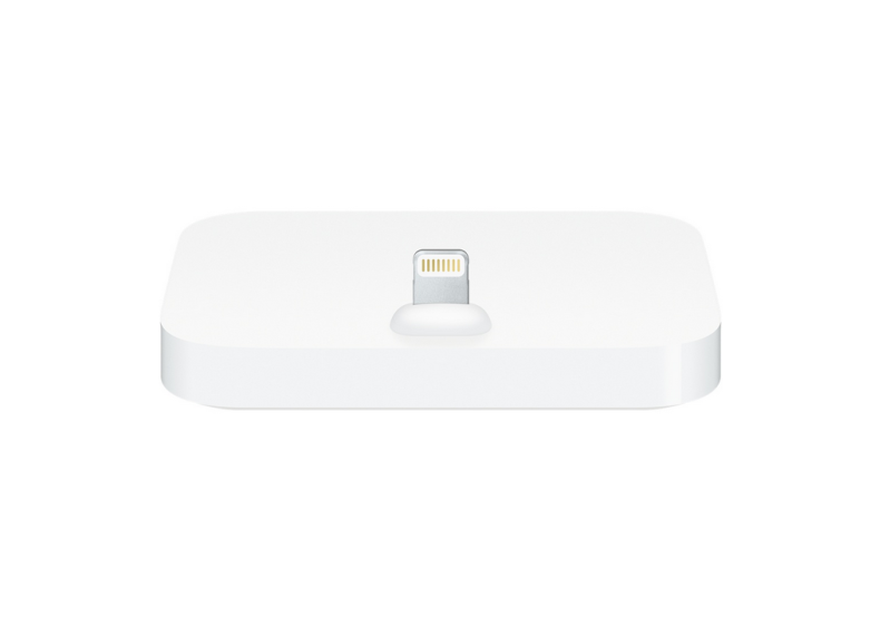 The new lightning dock for the iPhone 5, 5c, 5s, 6, and 6 Plus