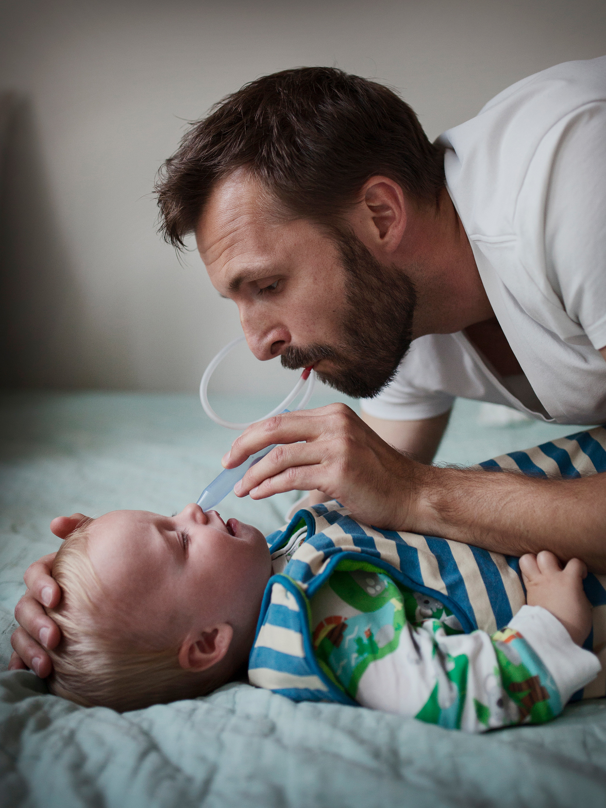 "TJEERD VAN WAIJENBURG, 34, product developer, IKEA, with son, Tim. <b>Parental Leave:</b> Nine months. ""My friends in Holland have a hard time understanding the equal distribution of parental leave days in Sweden. That I, as a man, would be at home for nine months is rare in Holland. There, parents have three months for each child before they start working, and most men take no leave at all."""
