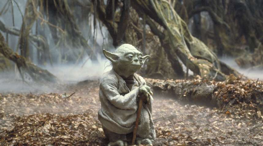 Yoda in Star Wars Episode V: The Empire Strikes Back