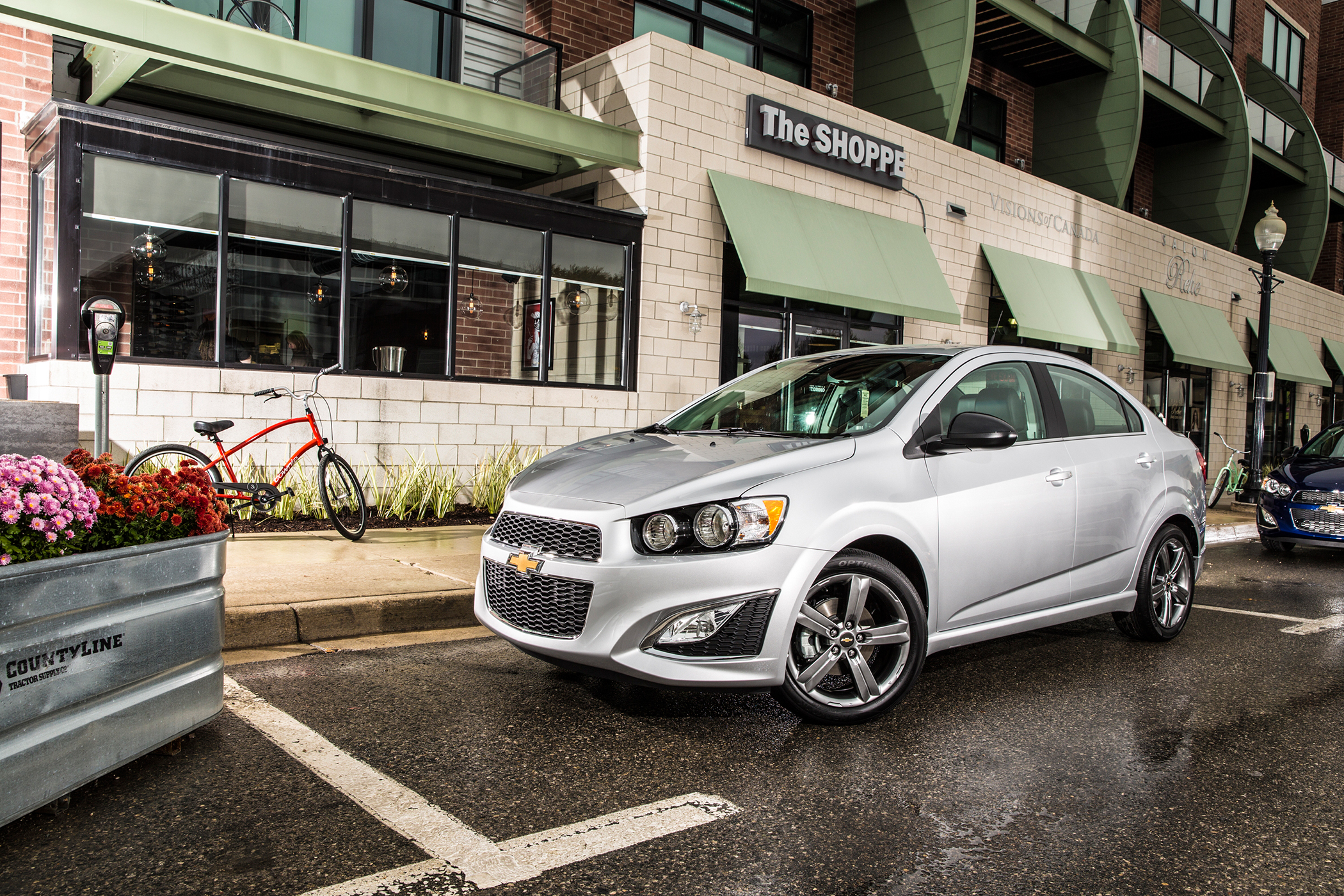 2016 Chevrolet Sonic RS Sedan