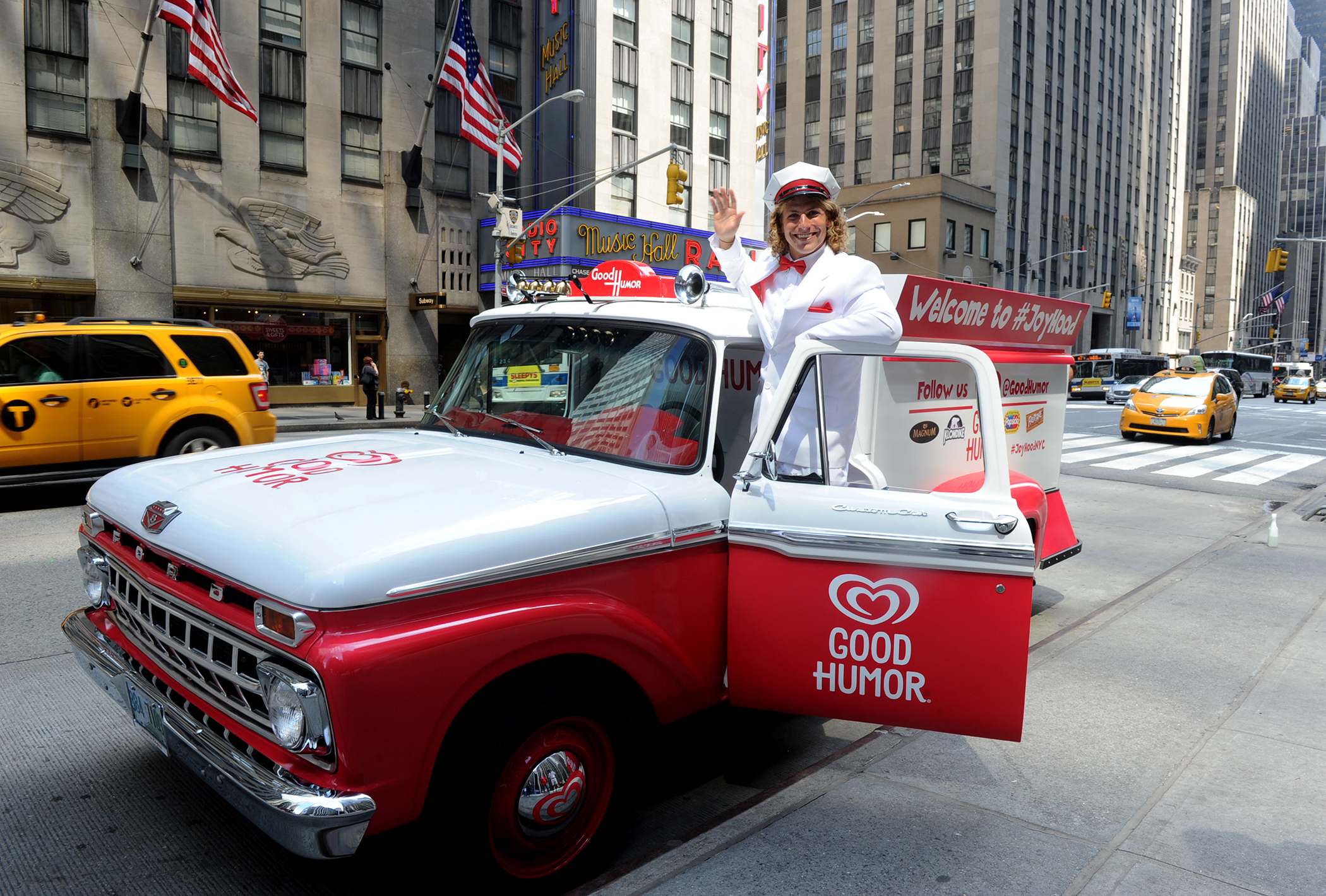 Unveiling of The Good Humor Joy Squad and launch of the Good Humor Welcome to Joyhood campaign,Thursday, June 25, 2015, in New York.
