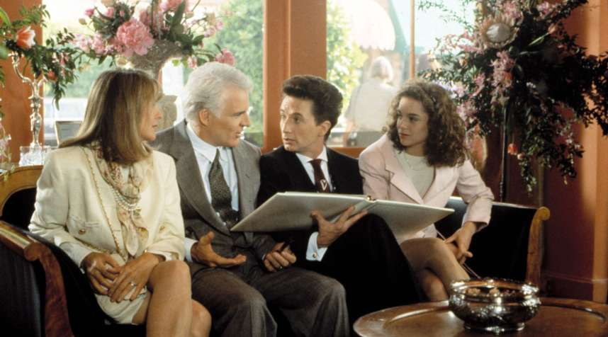 In  Father of the Bride,  Martin Short (second from right) played an unusually enthusiastic wedding planner
