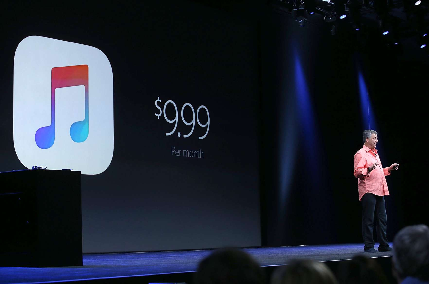 Apple unveils its new approach to selling you music. (It's a lot like what Spotify and Rdio already did.)