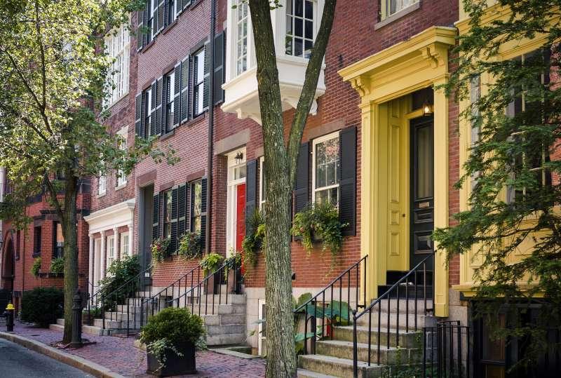 Beacon Hill neighborhood of Boston, Massachusetts