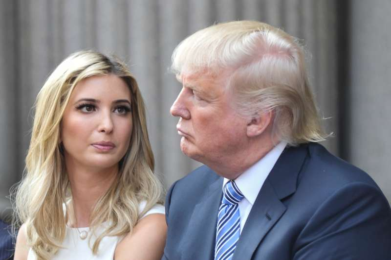 Ivanka Trump, shown here with her father Donald at the groundbreaking ceremony for the Trump International Hotel in Washington, D.C  at Old Post Office on July 23, 2014, is now executive vice president of development and acquisitions at The Trump Organization.