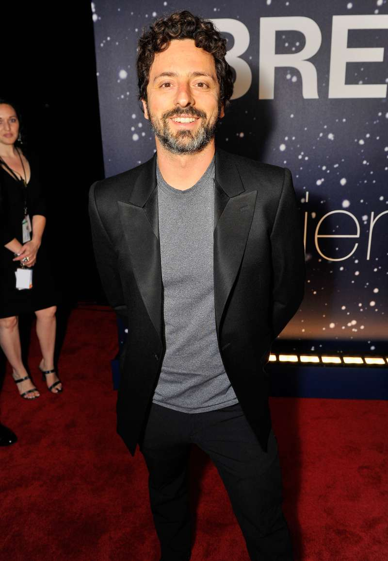 Google co-founder Sergey Brin attends the Breakthrough Prize Awards Ceremony Hosted By Seth MacFarlane at NASA Ames Research Center on November 9, 2014 in Mountain View, California.