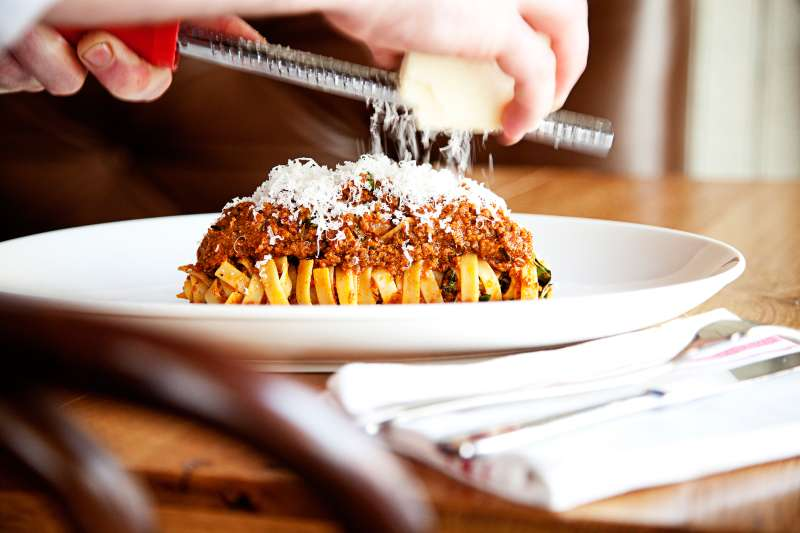 Pasta Bolognese at Mintwood Place Restaurant, Washington, DC