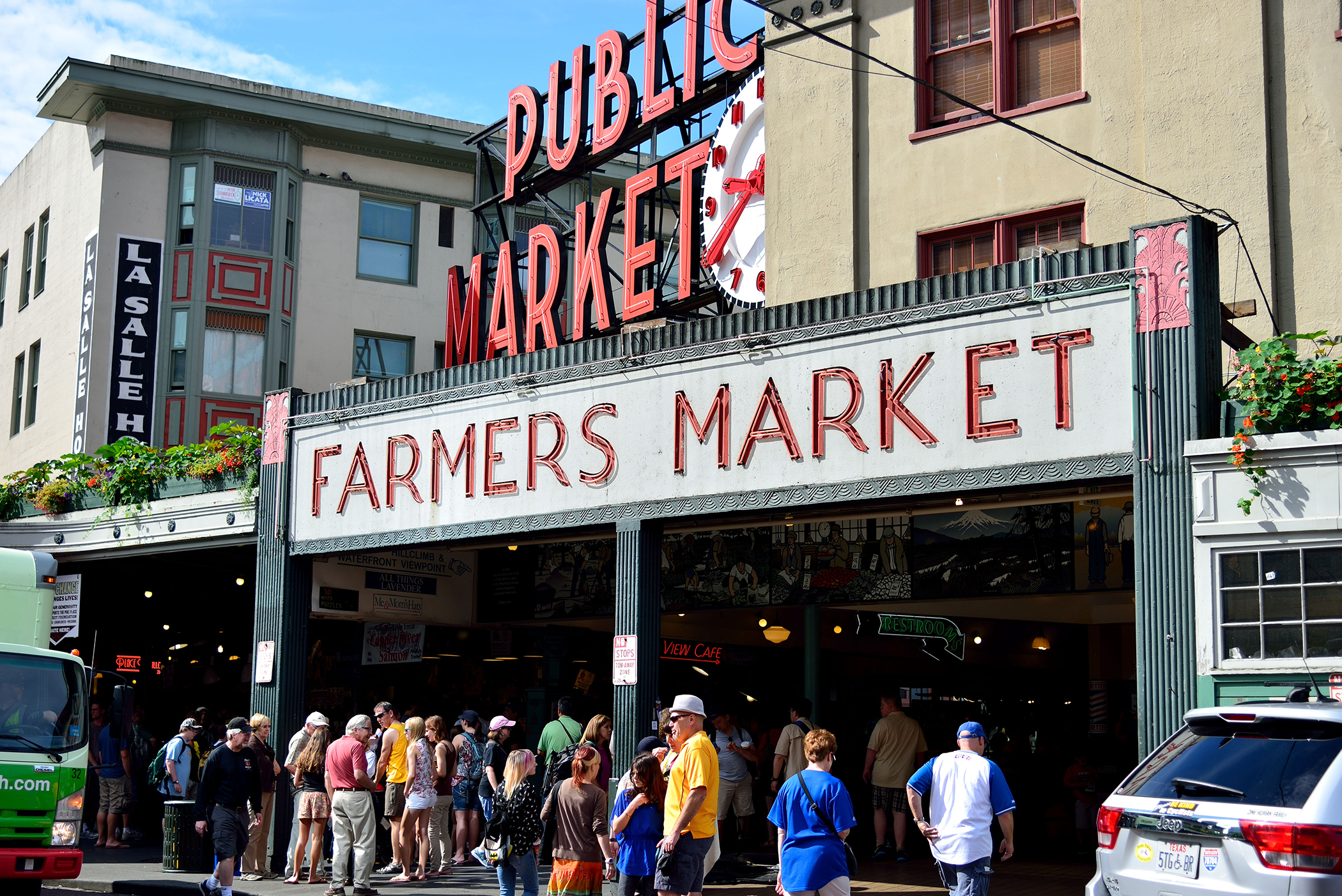 Pike Place Public Market, Seattle, Washington