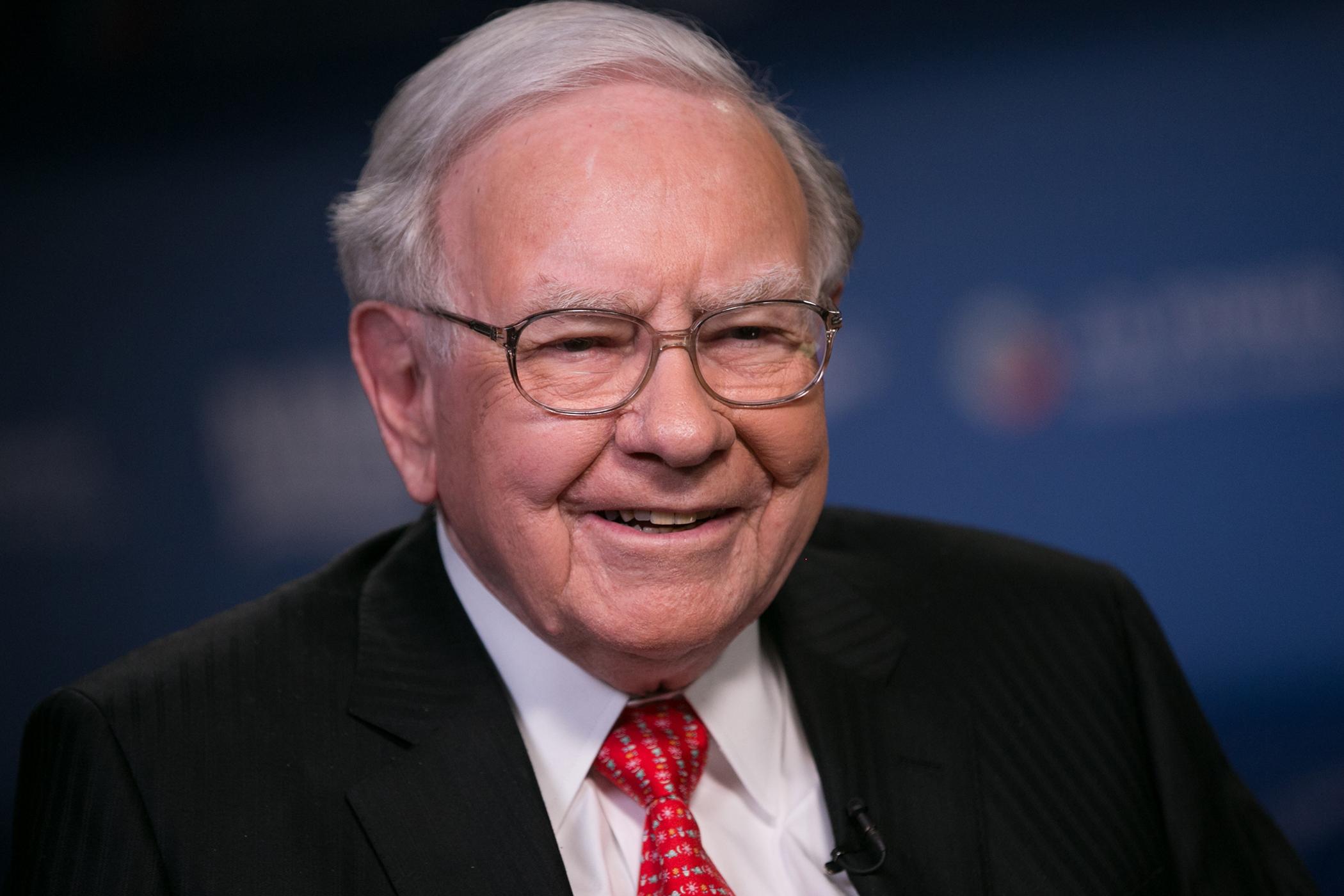Warren Buffett, CEO of Berkshire Hathaway, on March 31, 2015