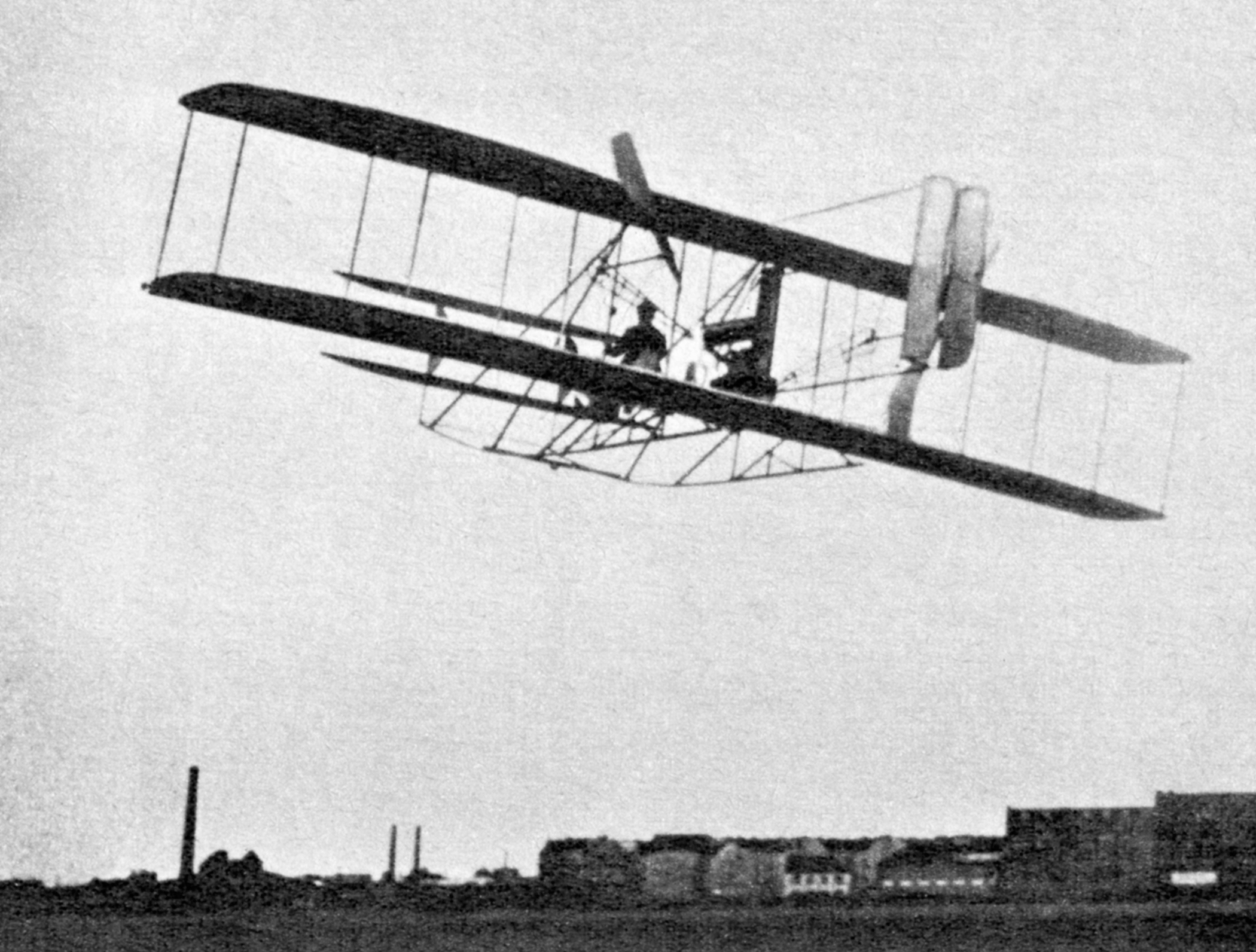 Wright Flyer I of Wilbur and Orville Wright, Kitty Hawk, North Carolina, 1903