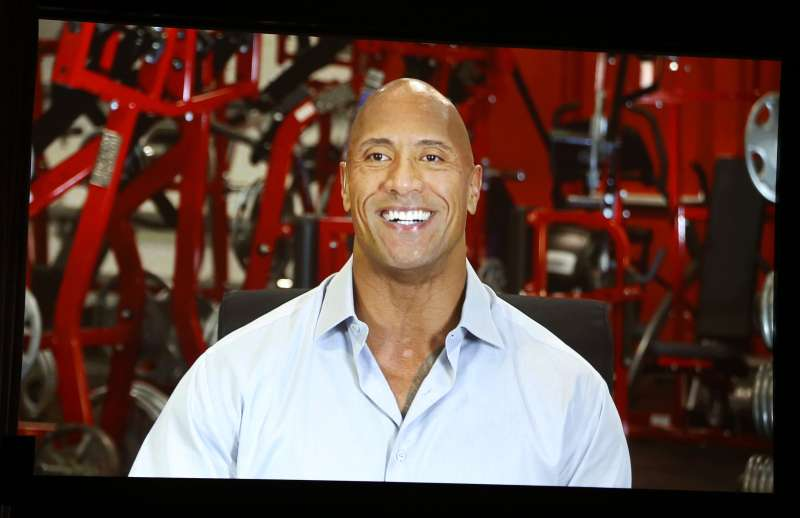 Dwayne  the Rock  Johnson plays a pro athlete turned financial adviser in HBO's Ballers.
