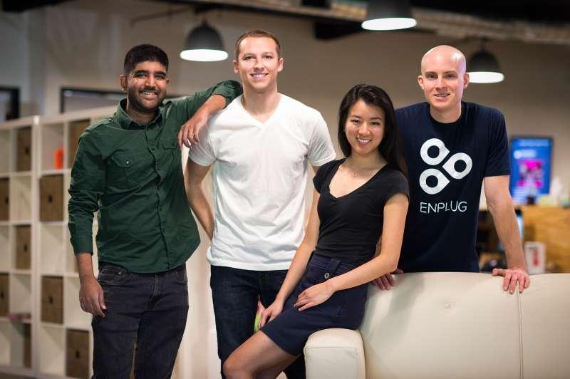 Nanxi Liu and the Enplug team